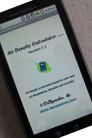 Air Density Calculator 1.3 screenshots 1