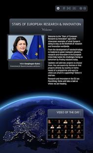 Stars of European R&I - screenshot thumbnail