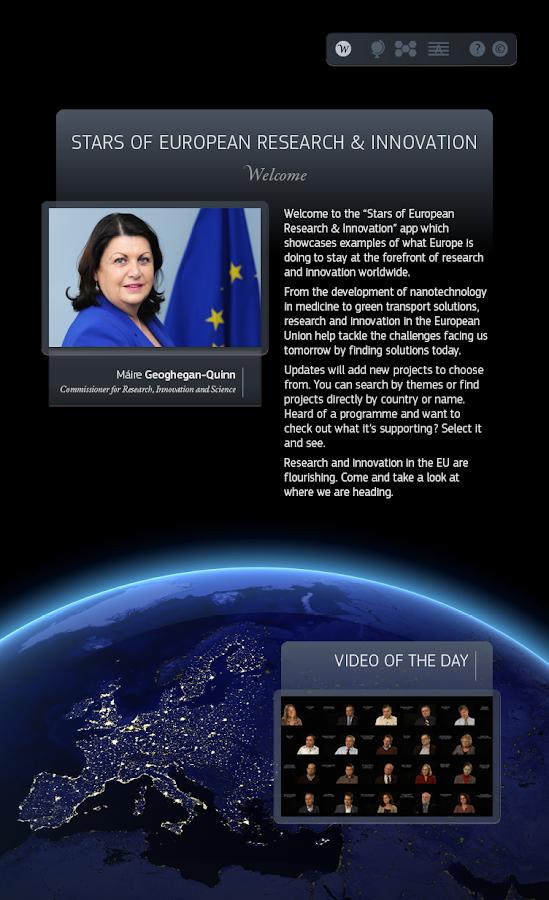 Stars of European R&I - screenshot