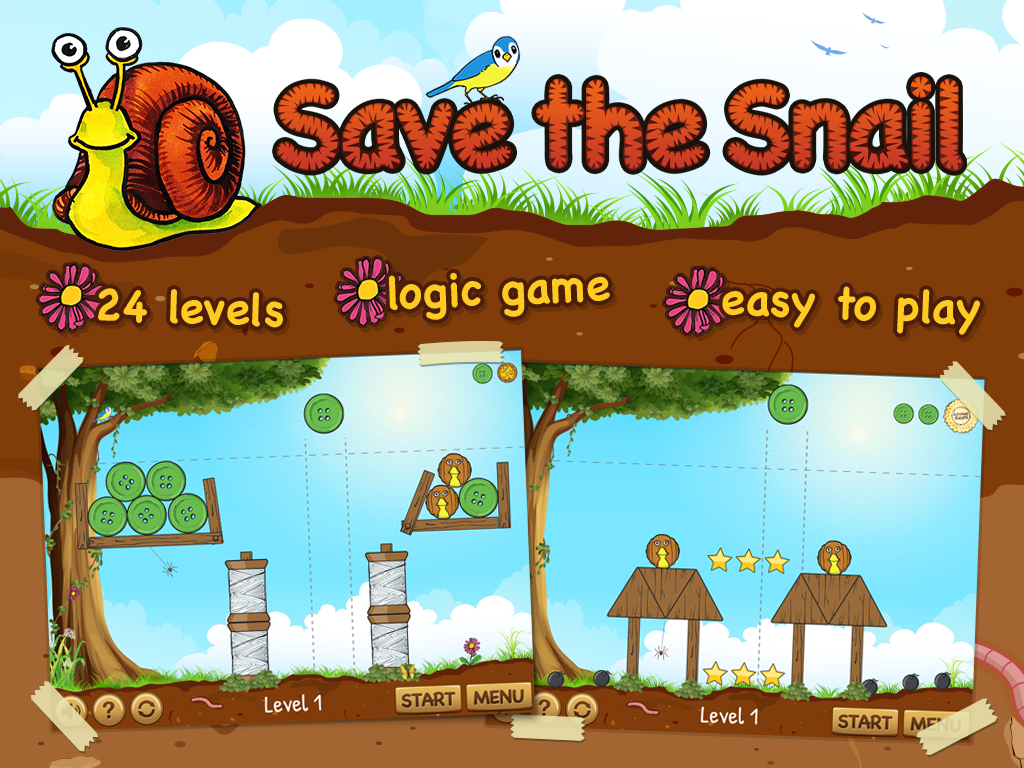 Save the Snail - screenshot