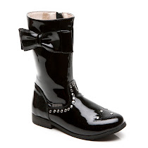 Step2wo Teela - Patent Bow & Stud Boot BOOTS