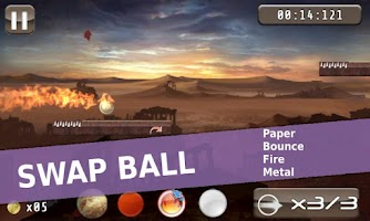 Screenshot of Paper Ball Full