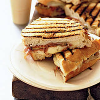 Cheesy Grilled Eggplant Sandwiches.