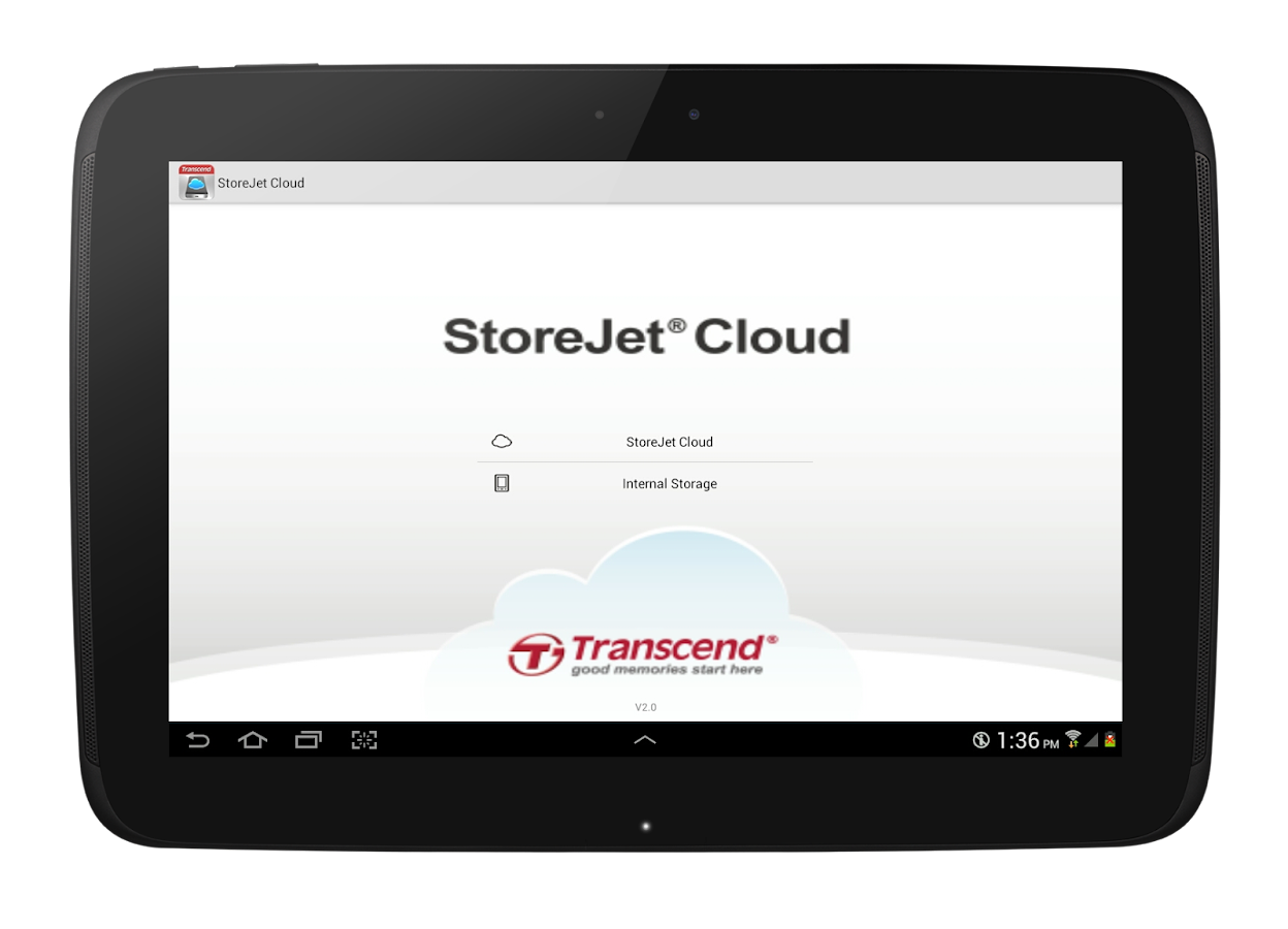 StoreJet Cloud - screenshot