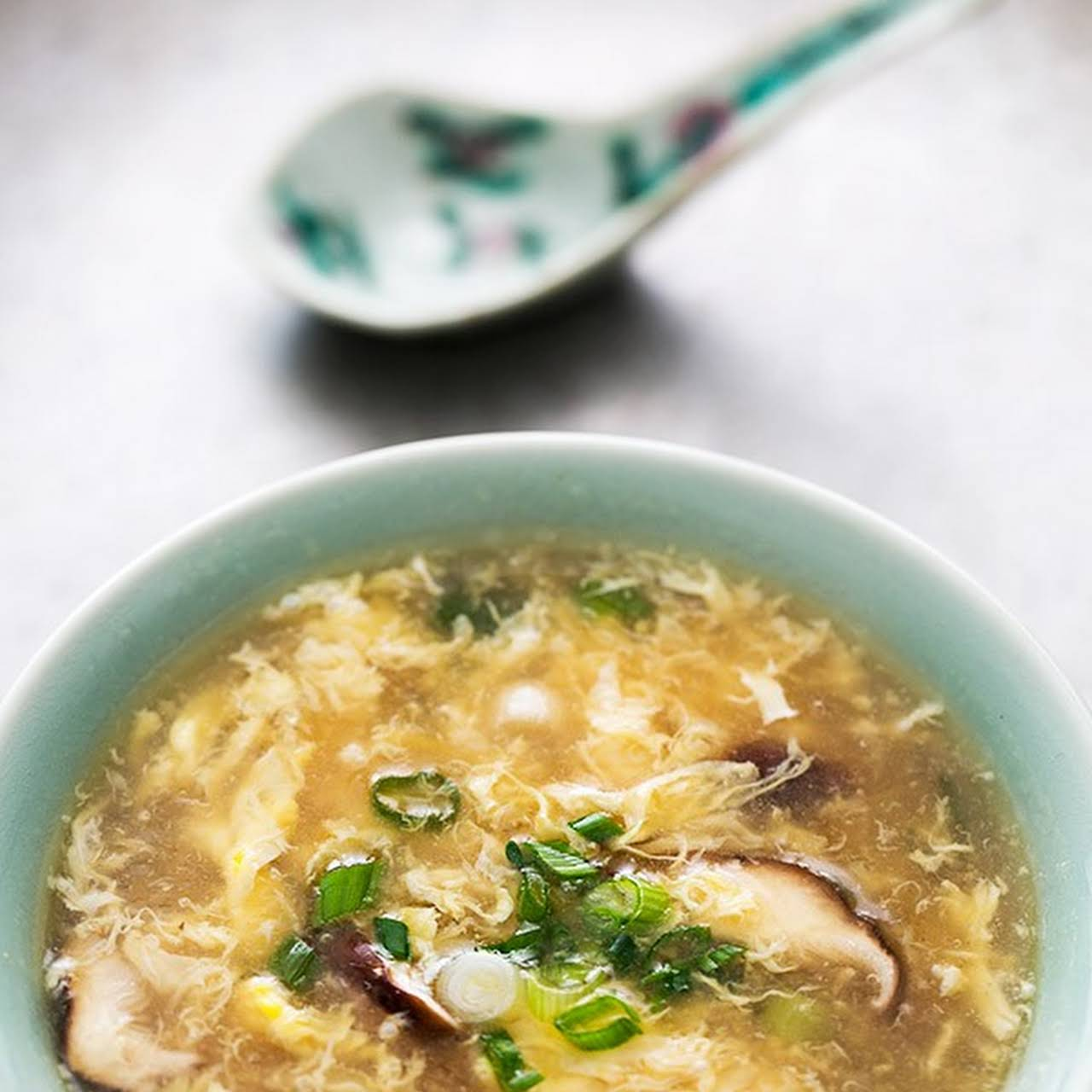 unexpected and Easy Egg Drop Soup