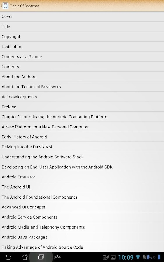 ePub Reader for Android - screenshot