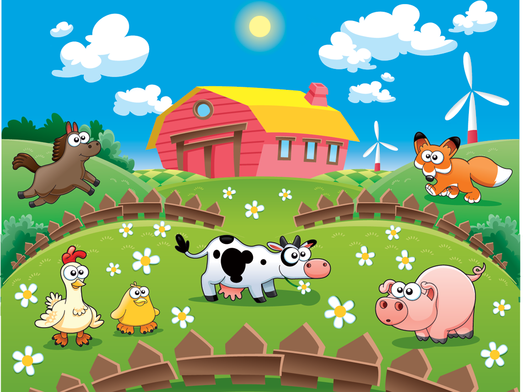 Farm animals for kids HD - screenshot