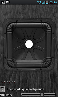 Subwoofer Bass Vibrator - screenshot thumbnail