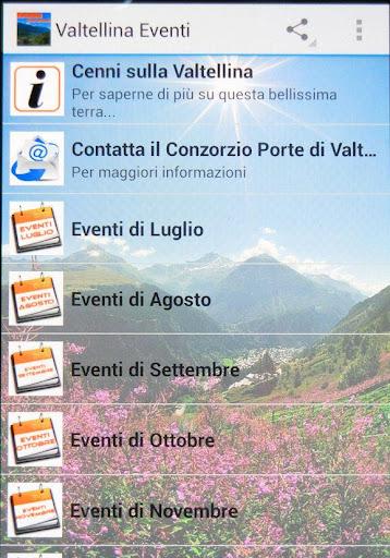 Valtellina Eventi