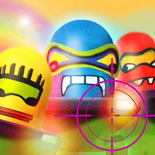 遊樂場射擊3D LOGO-APP點子
