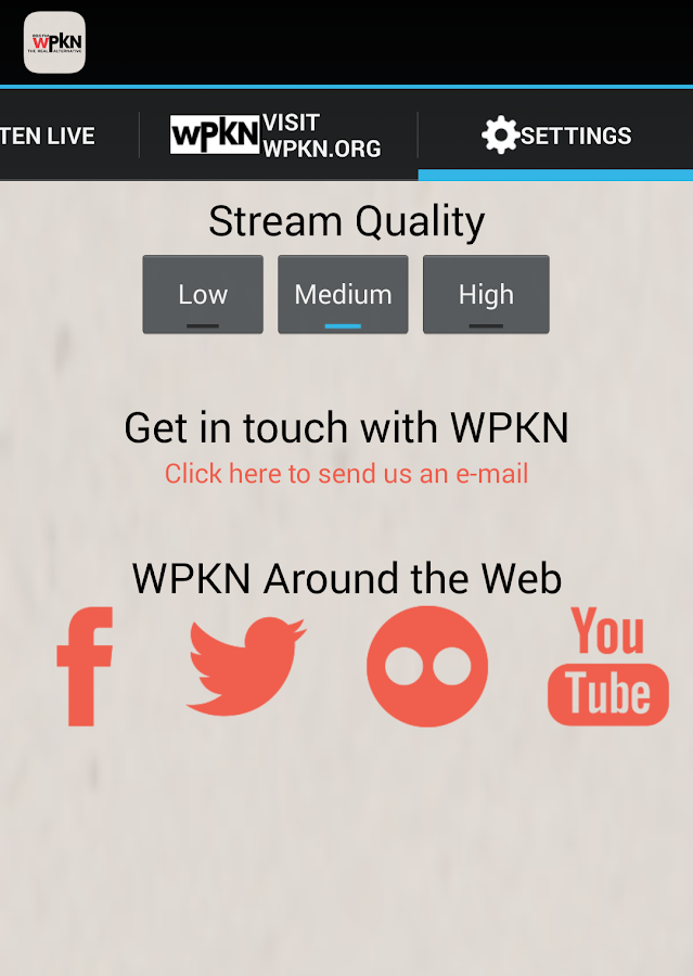 WPKN Live- screenshot