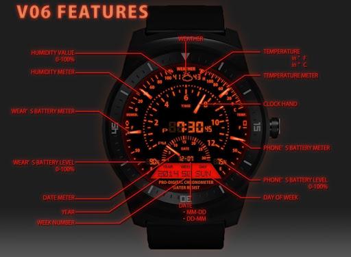 V06 WatchFace for LG G Watch R