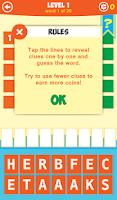 Screenshot of 5 Little Clues 1 Word