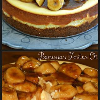 Bananas Foster Cheesecake.