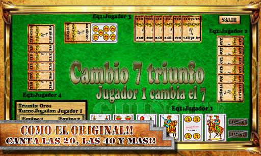 【免費紙牌App】Guiñote Gratis-APP點子