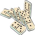 Dominoes Score Pad logo