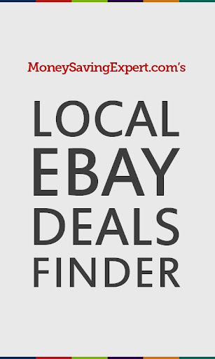 Local Ebay Deals Finder