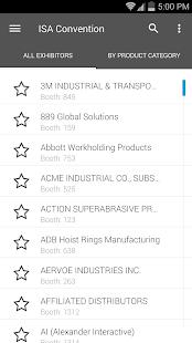 ISA Convention 2015 screenshot