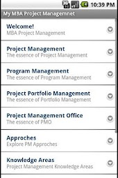 My MBA Project Management