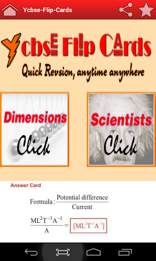 Dimensional Analysis Cards