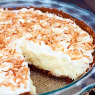 Coconut Cream Pie with Gingersnap Crust