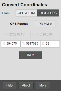 GPS Helper - screenshot thumbnail