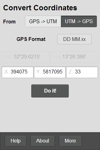 GPS Helper - screenshot