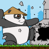Panda Village Attack Rush Fun