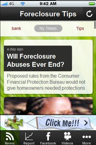 Foreclosure Tips.