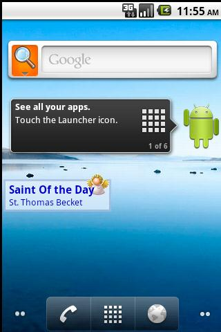 Saint of the Day - screenshot