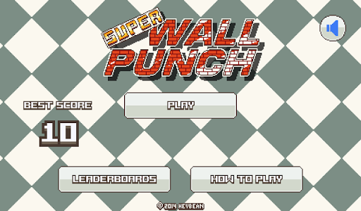 Super Wall Punch