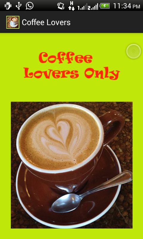 Coffee Lovers - screenshot