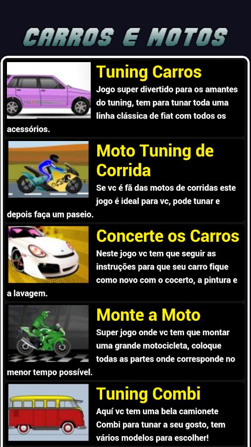 Jogos de Carros e Motos - screenshot