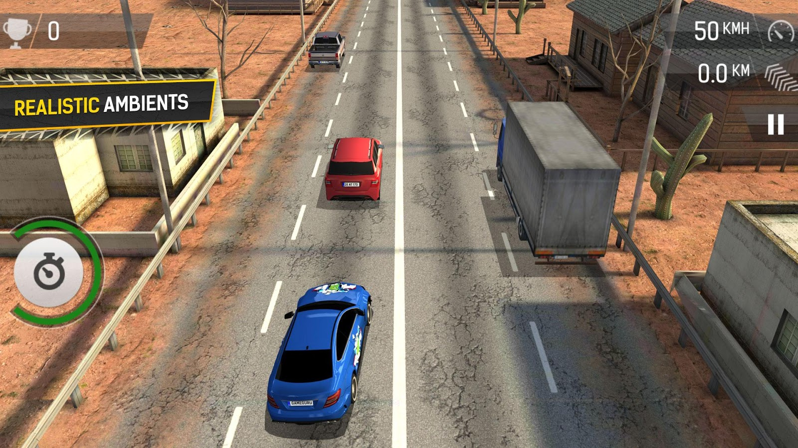 Scratch how to make a car game youtube - Racing Fever Screenshot