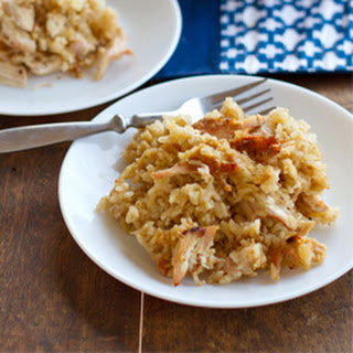 Chicken and Rice Casserole.