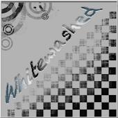 Whitewashed Clock