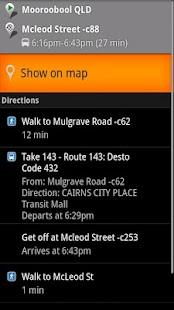 Sunbus Tracker Cairns - screenshot thumbnail