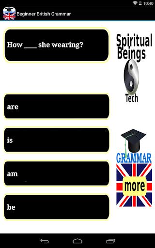 Beginner English Grammar Free