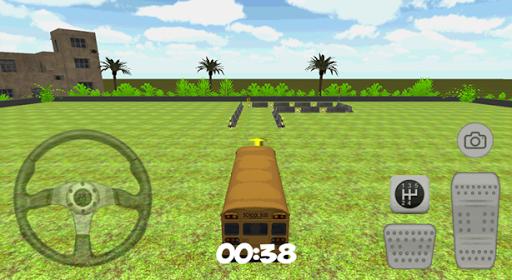 3D校車停車場
