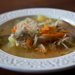 Russian Traditional Soup