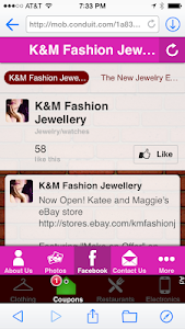 K&M Fashion Jewellery screenshot 1