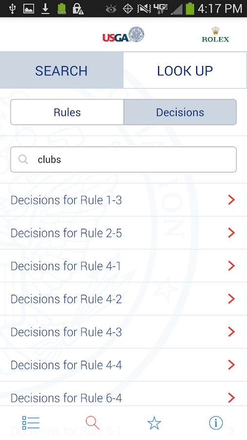 The Rules of Golf - screenshot