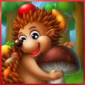 Приключения Ежика (для детей) icon