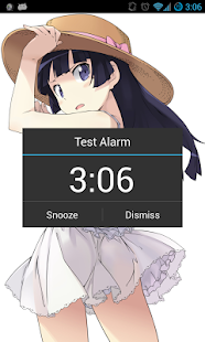 Anime Alarm Clock - screenshot thumbnail