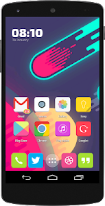 Flat Candy Icons (Apex, Nova) v1.2.8