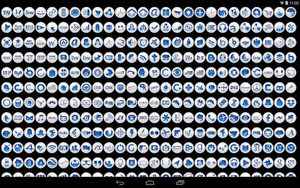 Clean Blue - Icon Pack Screenshot 7
