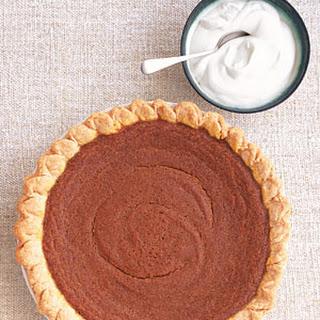 Pumpkin Mascarpone Pie.
