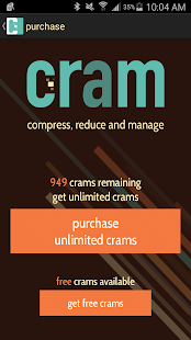 Cram - Reduce Pictures Screenshot
