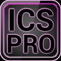 ICS Pro PINK GOLauncher Widget logo