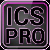 ICS Pro PINK GOLauncher Widget